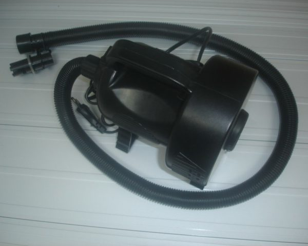 Replacement Air Pump for Inflatable Batting Cages.