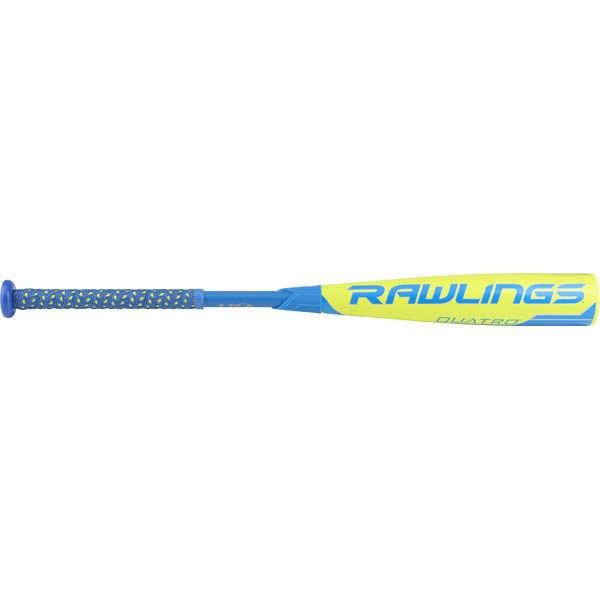 Rawlings 2018 Quatro USA Baseball Bat (-10)