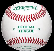 Diamond DOL-1 Official League Baseballs - Dozen