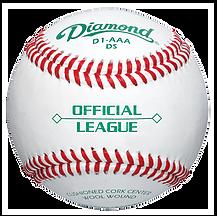 Diamond D1-AAA-DS Semi Pro League Baseballs - Dozen