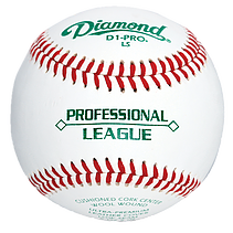 Diamond D1-Pro-LS Professional League Baseballs - Dozen