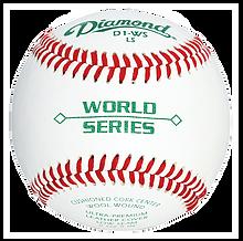 Diamond D1-WS-LS Major League Style Baseballs - Dozen