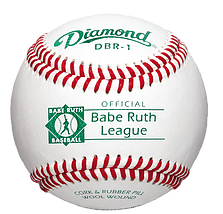 Diamond DBR-1 Babe Ruth League Baseballs - Dozen