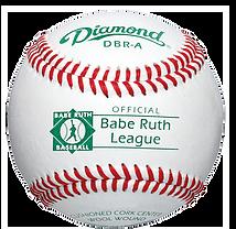 Diamond DBR-A Babe Ruth League Baseballs - Dozen