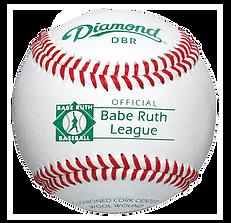 Diamond DBR Babe Ruth League Baseballs - Dozen