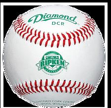 Diamond DCR Cal Ripken League Baseballs - Dozen