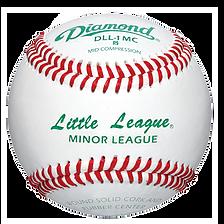 Diamond DLL-1 MC Little League Minor League Baseballs - Dozen