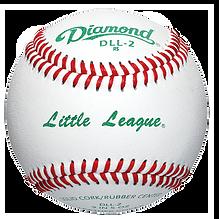 Diamond DLL-2 Little League Baseballs - Dozen