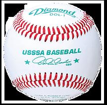 Diamond DOL-1 USSSA League Baseballs - Dozen