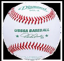 Diamond DOL-A USSSA League Baseballs - Dozen