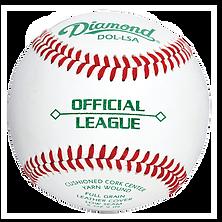 Diamond DOL-LSA Official League Baseballs - Dozen