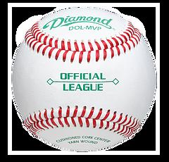 Diamond DOL-MVP Official League Baseballs - Dozen