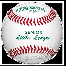 Diamond DSLL-1 Senior Little League Baseballs - Dozen