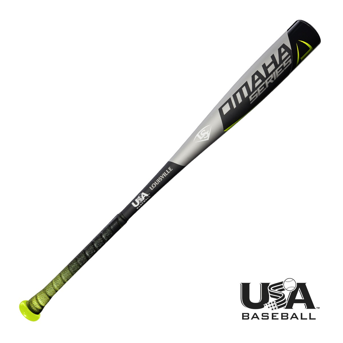 Louisville Slugger 2018 Omaha 518 USA Baseball Bat (-10)