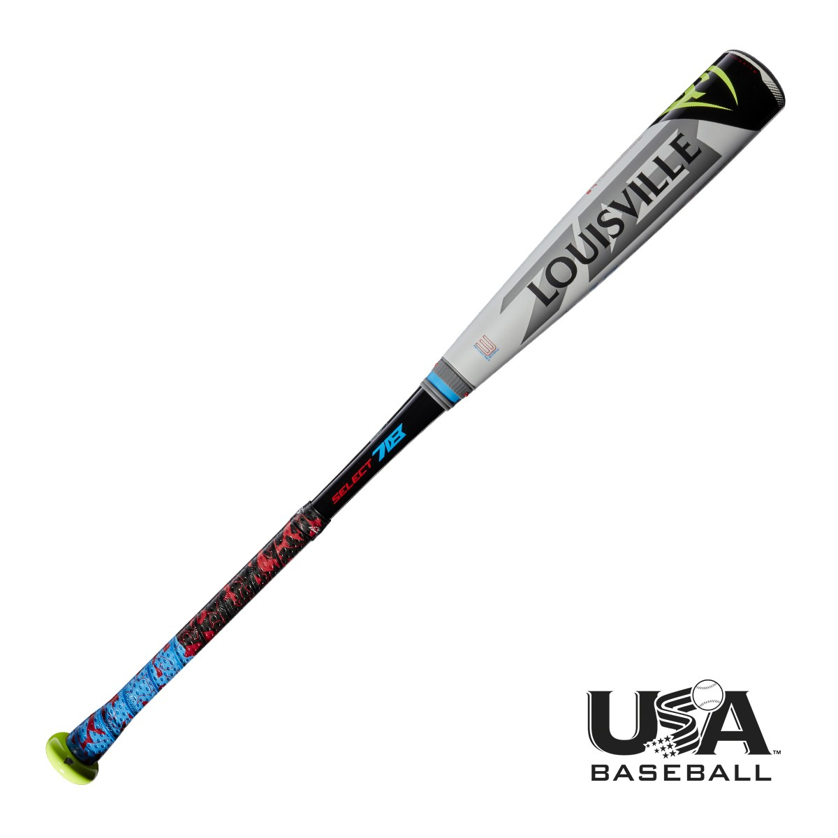 Louisville Slugger 2018 Select 718 USA Baseball Bat (-10)